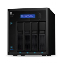 WD My Cloud EX4100 Diskless Expert Series 0TB Network Attached Storage (WDBWZE0000NBK)