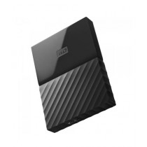 WD My Passport 1TB Portable External Hard Drive Black (WDBYNN0010BBK)