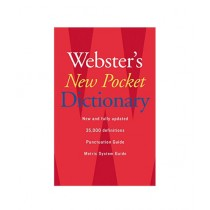 Webster's New Pocket Dictionary Book 1st Edition