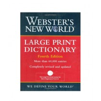 Webster's New World Large Print Dictionary Book 4th Edition