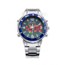 Weide Military Men's Sports Watch Two-Tone (WH843)
