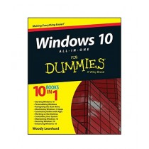 Windows 10 All-in-One For Dummies Book 1st Edition