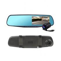 Wish Hub 1080p Car DVR Mirror With Dual Camera
