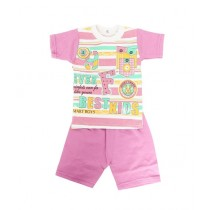 Wokstore Garments 2 Pcs Suit For Kids Multicolor (0084)