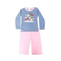 Wokstore Garments Pajama & T-Shirt For Kids Multicolor (0092)