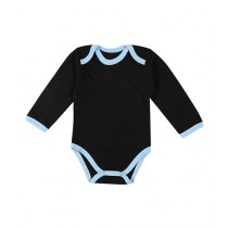 Wokstore Garments Romper For New Born Baby Black/Blue