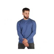 Wokstore Garments Sweatshirt For Men Royal Blue