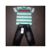 Wokstore Garments T-Shirt & Pant For Kids (0101)