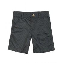 Wokstore Garments Woven Short For Kids Dark Grey