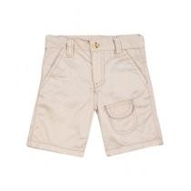 Wokstore Garments Woven Short For Kids Off White