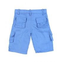 Wokstore Garments Woven Short For Kids Sky Blue