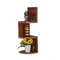 Wood World Wall Hanging Shelf Light Brown - 1 Piece
