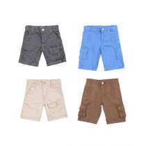Workstore Garments Cargo Short Pack Of 4 For Kids (0138)