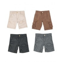 Workstore Garments Cargo Short Pack Of 4 For Kids (0140)