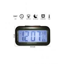 World of Promotion Smart LED Light Digital Clock Black