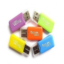 WS Micro USB 2.0 Card Reader Pack Of 5