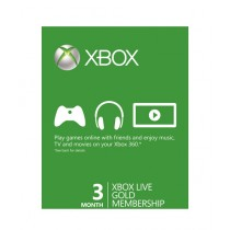 Xbox Live Gold Membership Card - 3 Months - Email Delivery