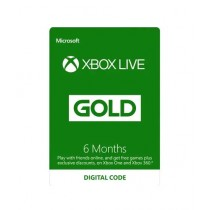 Xbox Live Gold Membership Card - 6 Months - Email Delivery