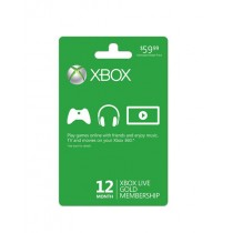 Xbox One Live Gold Membership Card For 1 Year