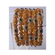 ZaJewellery Antique Bangles For Women Gold