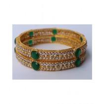 ZaJewellery Bangles For Women Gold (0016)