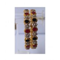 ZaJewellery Bangles For Women Gold (0017)