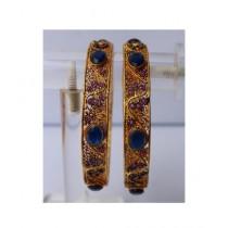 ZaJewellery Bangles For Women Gold (0006)