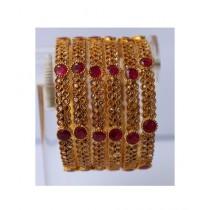 ZaJewellery Bangles For Women Gold (0007)