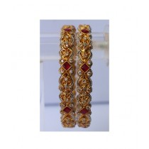ZaJewellery Bangles For Women Gold (0008)