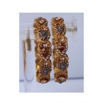 ZaJewellery Bangles For Women Gold (0010)