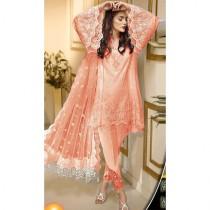 Zarish Anaya Bridal Chiffon Collection Unstitch Suit For Women Pink