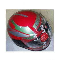 ZTC Motor Bike Helmet Red