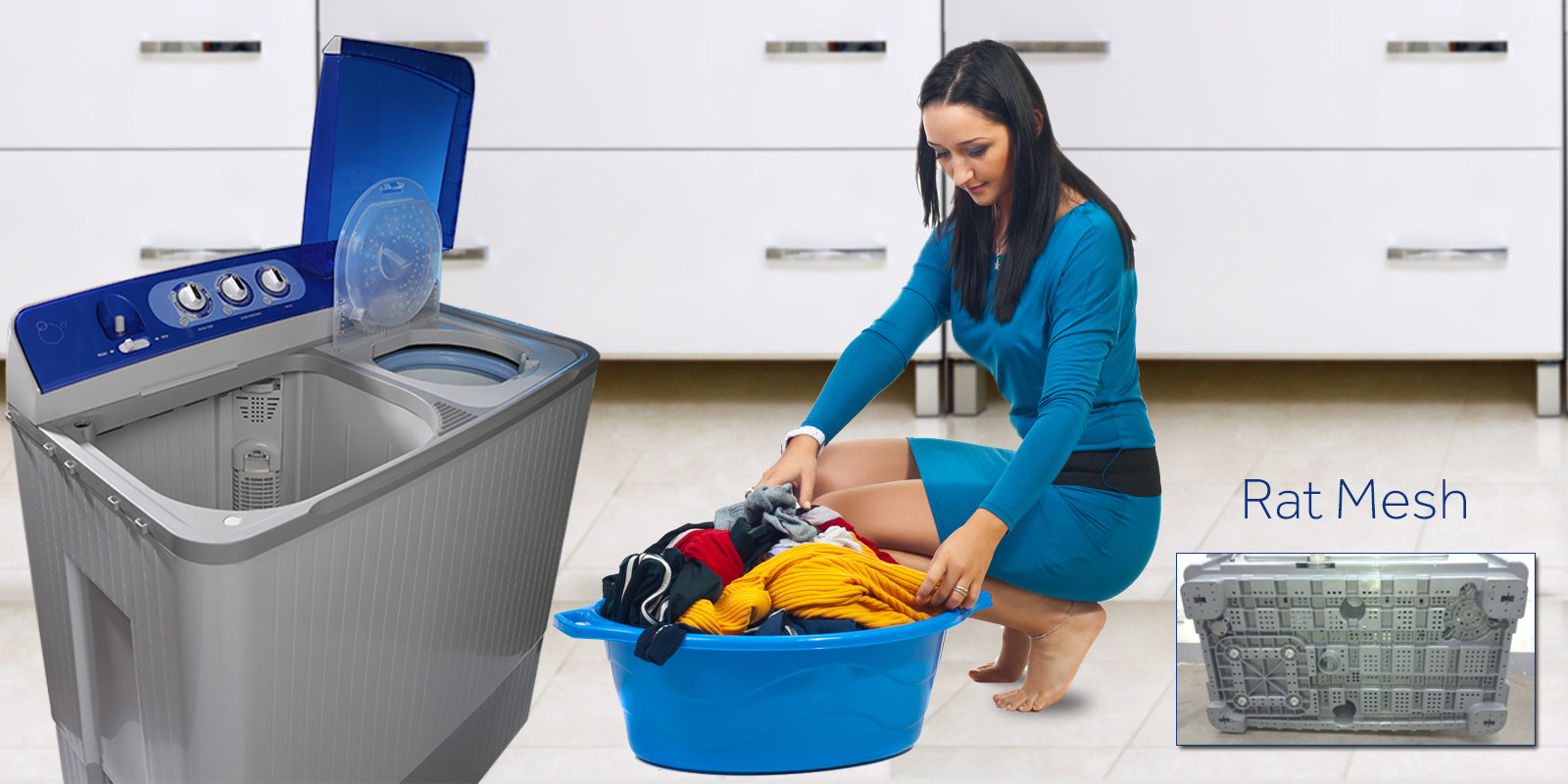 Haier Washing Machine HWM 80-000