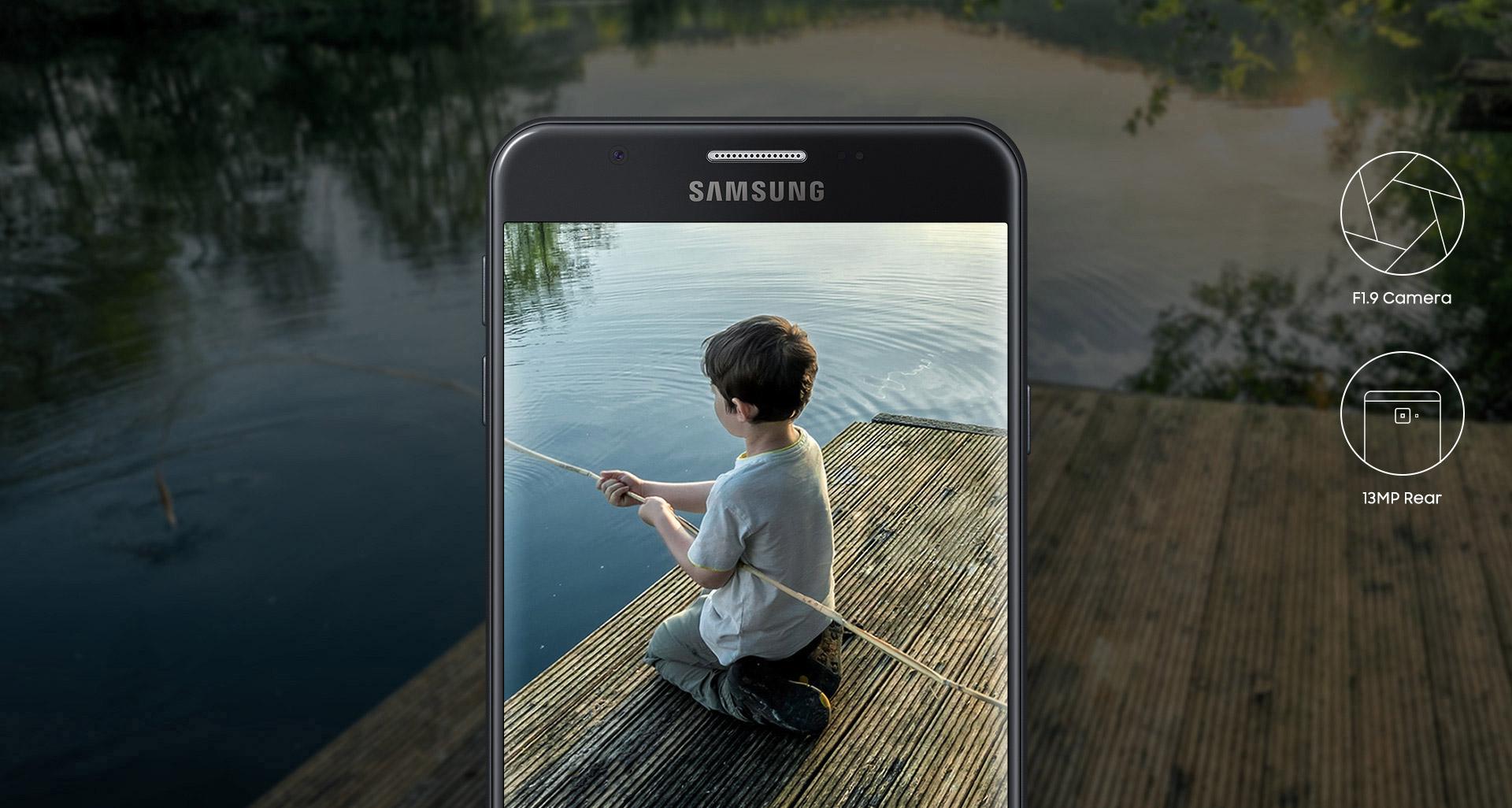 Samsung Galaxy J7 Prime 16GB Gold - Official Warranty