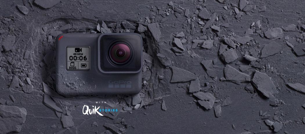 GoPro Hero 6 4K UHD Camera Black