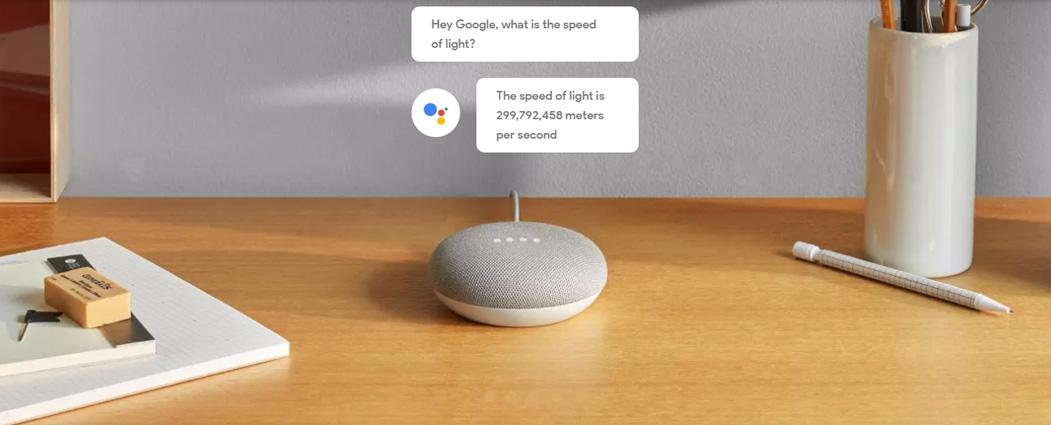 Google Home Mini Smart Bluetooth Speaker