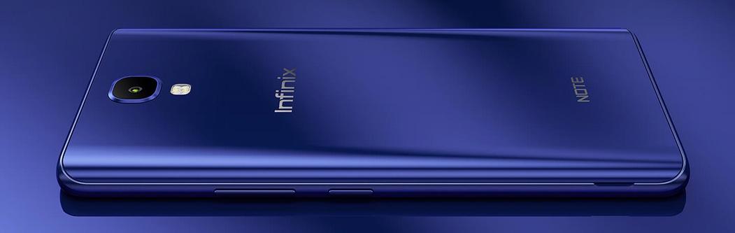 Infinix Note 4 32GB 3GB RAM Dual Sim Black (X572)