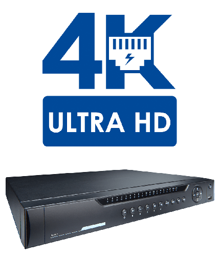Lorex LNR600 Series HD NVR with 16 IP Bullet 4MP Security Cameras  (LNR6328164B)