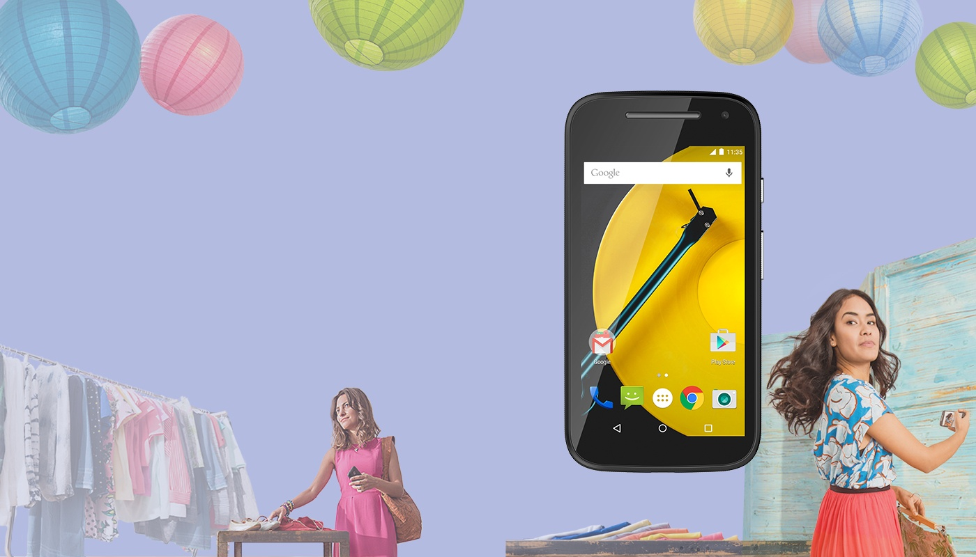 Motorola Moto E 2nd Gen 8GB Black
