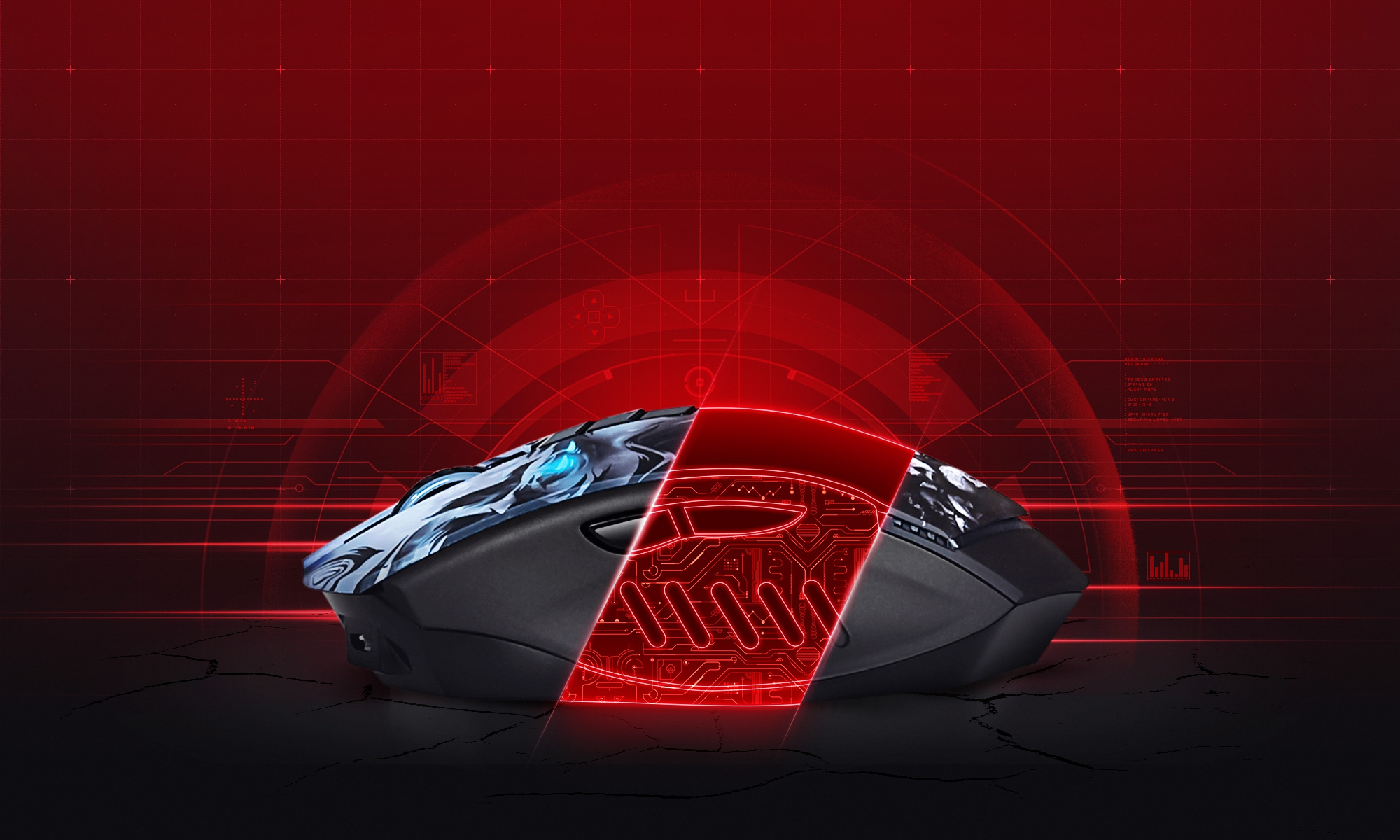 A4Tech Bloody R80 Light Strike Wireless Gaming Mouse