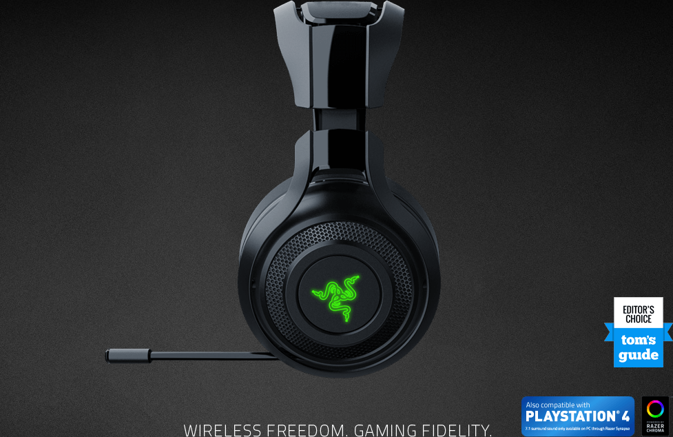 dfba4420c19 Razer ManO'War 7.1 Wireless Gaming Headset Price in Pakistan | Buy ...