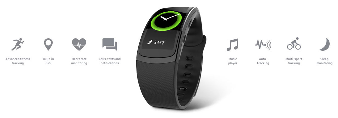 Samsung Gear Fit2 Black