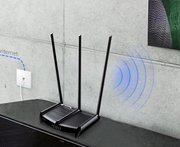 Image result for Superior Range – Up to 10,000*2 Square Feet With its upgraded hardware, the TL-WR941HP easily outperforms standard routers, providing dramatically expanded wireless coverage and connections that are significantly more reliable. You can enjoy high speed Wi-Fi in every part of your home, in your garage, and even in the backyard.