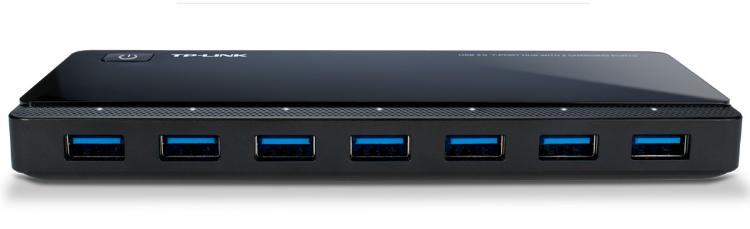 TP-Link USB 3.0 7-Port Hub with 2 Charging Ports (UH720)