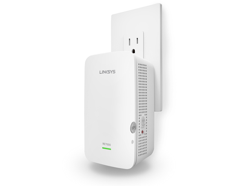 Linksys AC1900+ Dual Band Max-Stream MU-MIMO Wi-Fi Range Extender (RE7000)