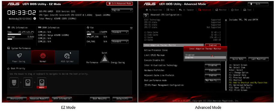Asus 5th / 4th Generation Intel Motherboard B85-PRO GAMER (LGA 1150)