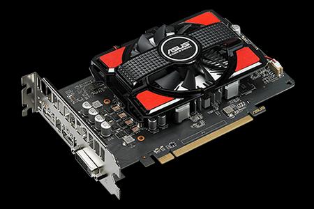 Asus Radeon RX 550 2GB GDDR5 AMD Graphics Card (RX550-2G)