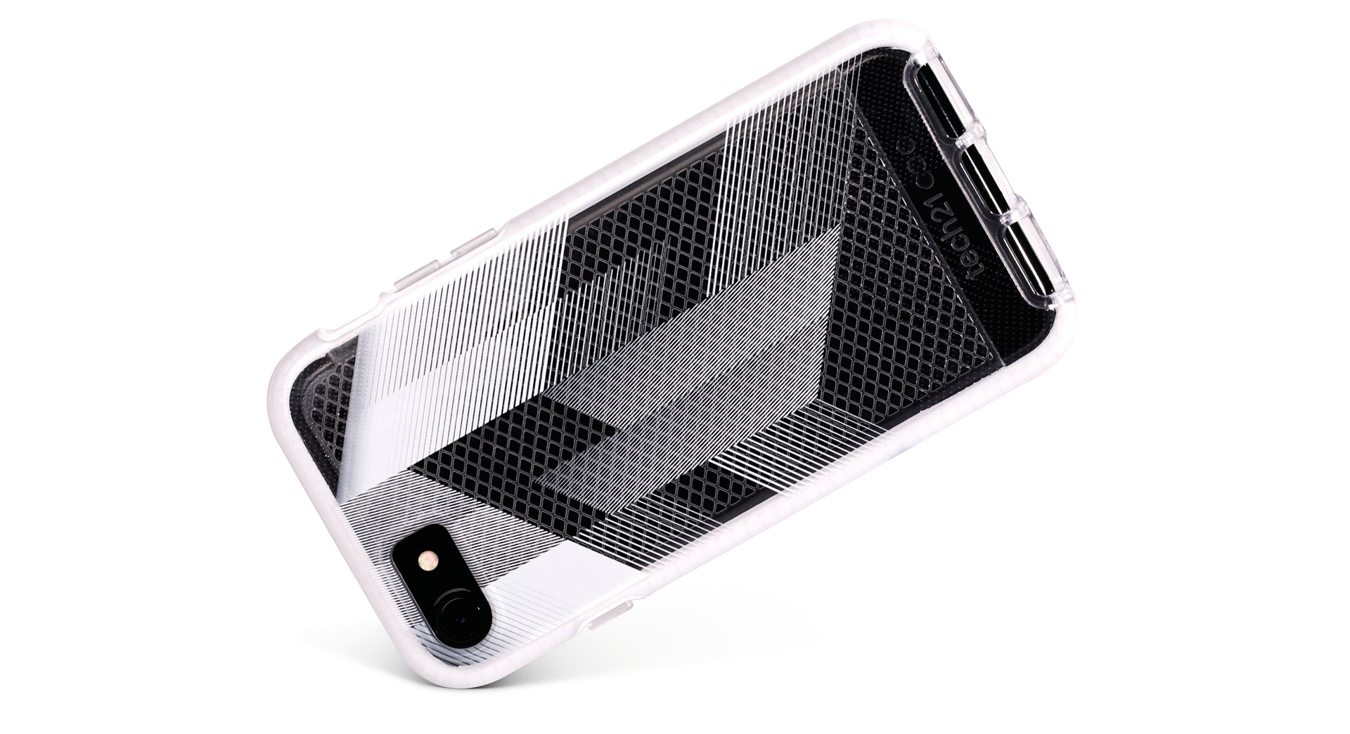 best sneakers 37f0c 4bca6 Tech21 Evo Check Urban Edition Smokey/Black Case For iPhone 8