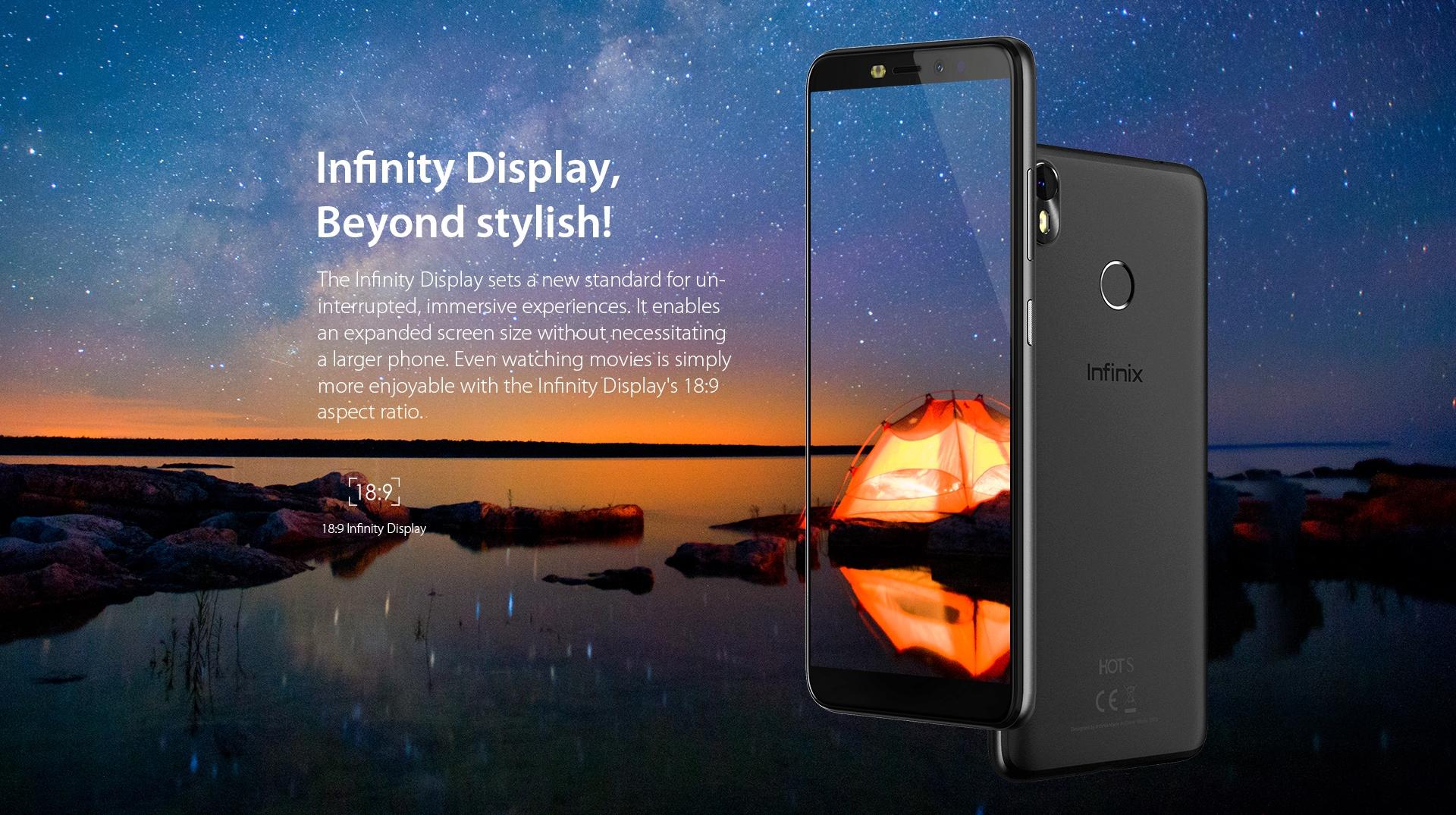 Infinix HOT S3 32GB Dual Sim Gold