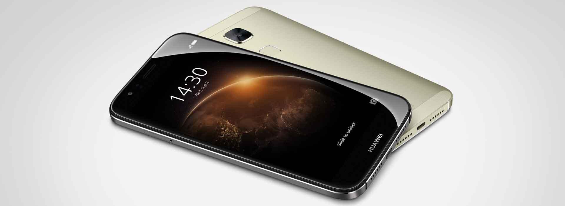 Huawei G8 Dual Sim 4G Gold The Full-Metal Experience